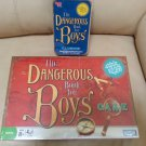 "The Dangerous Book for Boys Game by Parker Brothers - plus bonus ""ILLUSIONS"" KIT!"