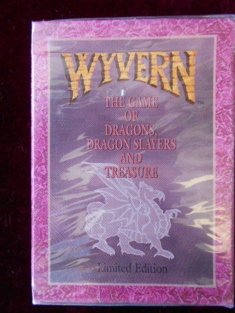 5 Wyvern CCG Starter Decks Limited Edition Factory Sealed Decks 1994New