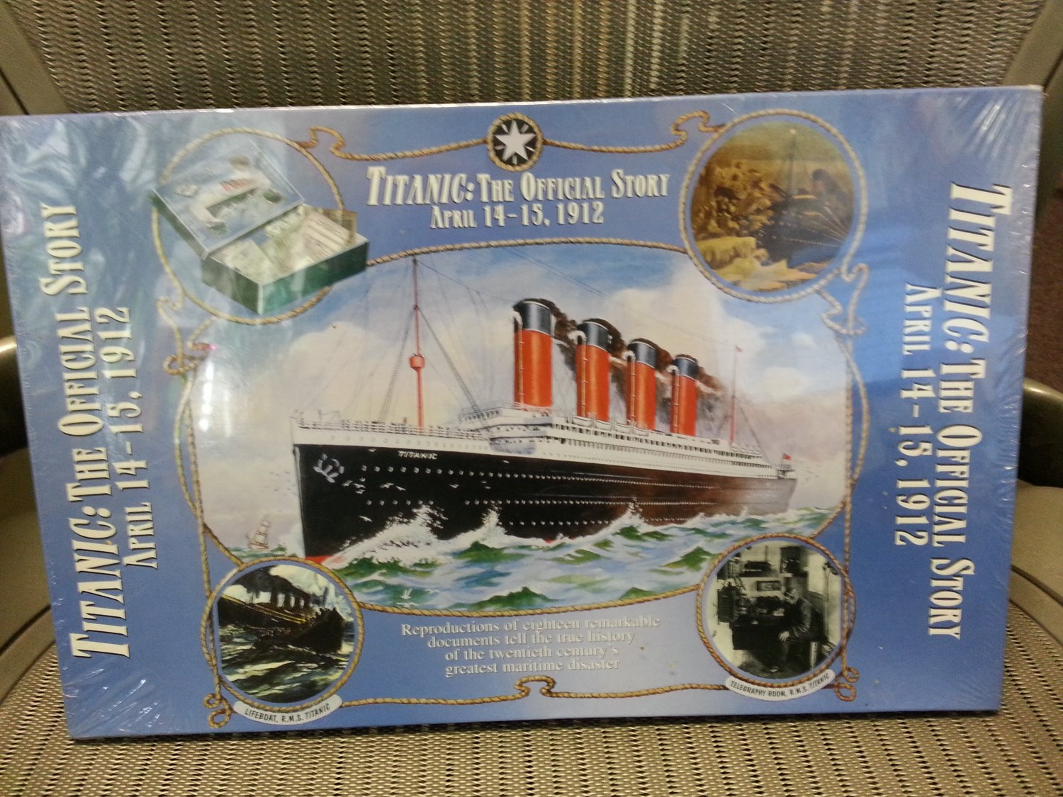 Titanic: The Official Story April 14-15, 1912 Book Supplement � Box set, December 2, 1997!