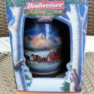 Anheuser Busch Budweiser Holiday in the Mountains Beer Stein 2000!