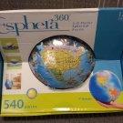 "Esphera 360 9"" 540 Pieces Plastic Globe Mega Brands by Warren Puzzle!"
