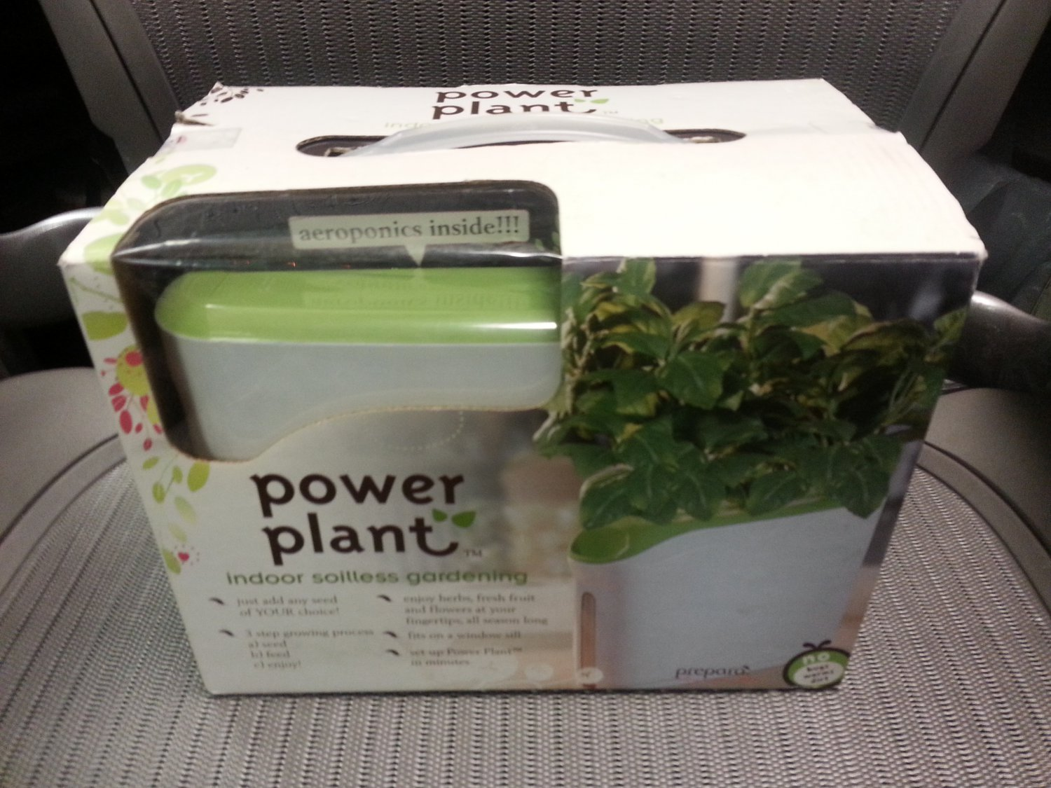 Prepara Power Plant Mini - Indoor Soilless Gardening system!