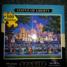 Statue of Liberty - 500pc Jigsaw Puzzle by Dowdle Folk Art - Artist: Eric Dowdle!