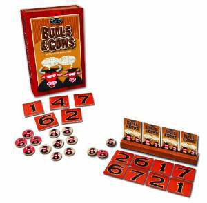 Bulls & Cows Card Game by Front Porch Classics - The Original Code-Breaking Game!