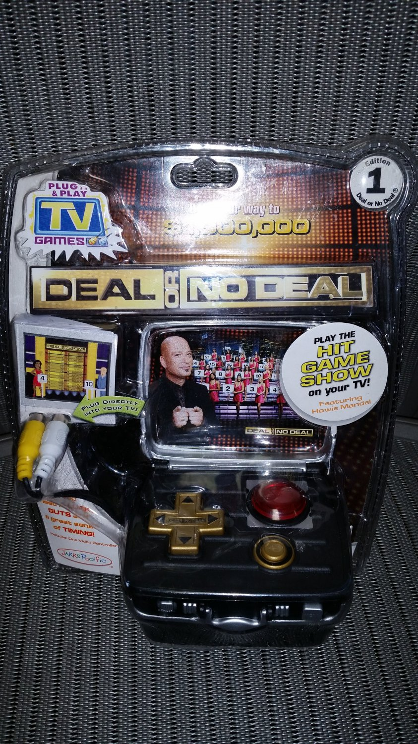 Deal Or No Deal Plug Amp Play Tv Game By Jakks Pacific