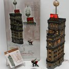 "DEPARTMENT 56 CHRISTMAS IN THE CITY ""THE TIMES TOWER"" 2000 SPECIAL EDITION GIFT SET #55510!"