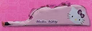 "Hello Kitty Baseball Bat/Helmet Bag - Pink - 31""x7""x9"" by Sanrio!"