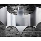 "DC Comics BATMAN LOGO Mirror - 27.5""  x  13"" - Most important part of Gotham City!"