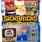 Sick Bricks - 2 Character Pack - Macho Mike & Cheese Grater by Sick Bricks!