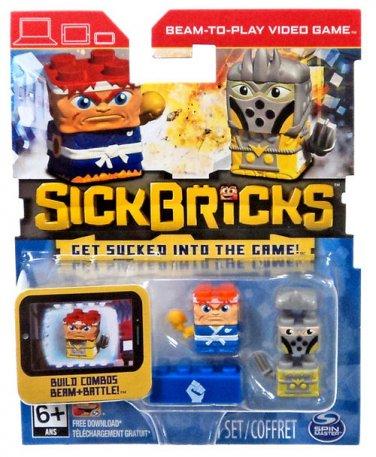 Sick Bricks - 2 Character Pack - Macho Mike & Cheese Grater by Sick Bricks!