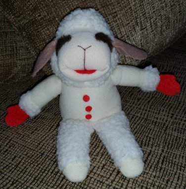 """SHARI LEWIS LAMB CHOP 9"""" Plush Toy - 1993 by Amerawell Products - New without Tag!"""