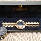 Fendi 700G Watch w/ RARE Black Dial & Genuine Diamond Hour Markers-AUTHENTIC-New w/ original tag/box