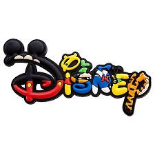 Disney Magnet - Mickey Mouse and Friends Disney Logo - Authentic Disney Park Merchandise!
