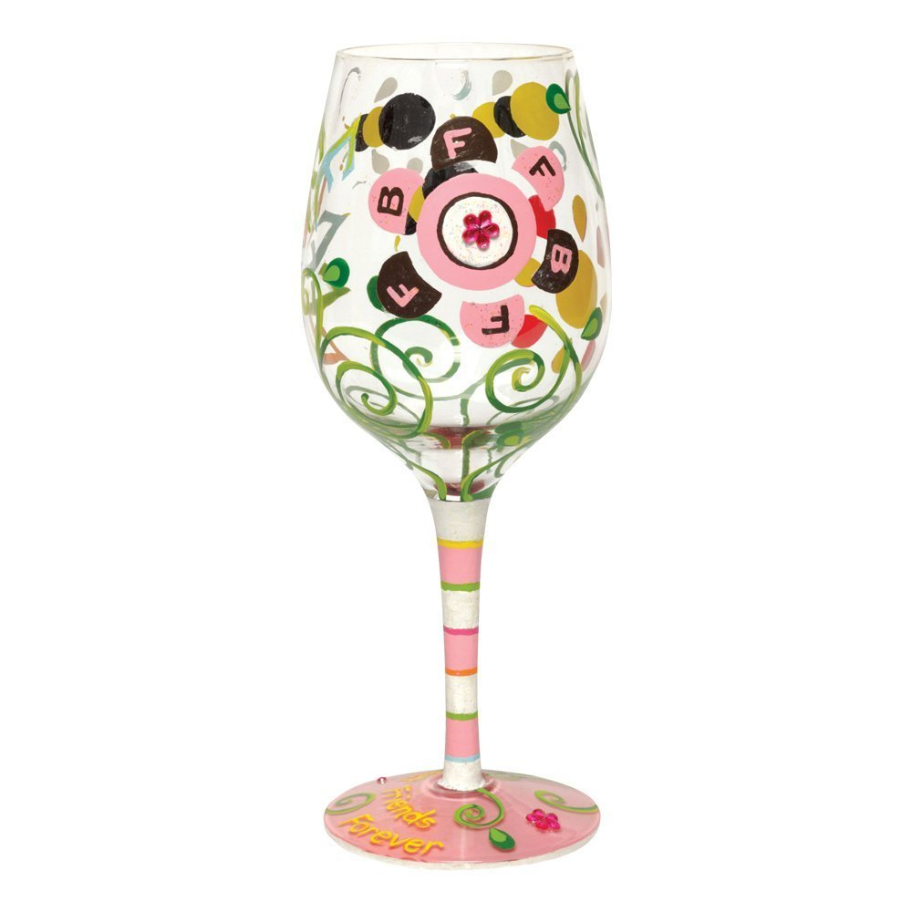 Lolita Glass - BFF (Best Friends Forever) Wine Glass!