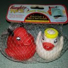 Naughty and Nice Floating Quackers -  Floating Fun for Bathtime, Hot Tubs and Pools!