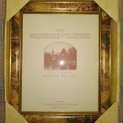 THE RENAISSANCE COLLECTION Wood 8 x 10 Photo Frame by National Picture & Frame Company - WORLD MAP!