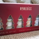 HoMedics Holiday 6 Pack Therapeutic-Grade Essential Oil Gift Set 1 - NEW in BOX!