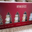 HoMedics Holiday 6 Pack Therapeutic-Grade Essential Oil Gift Set 2 - NEW in BOX!