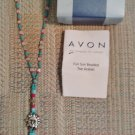 AVON FUN SUN BEADED TOE ANKLET - Unique & sexy BAREFOOT SUN SANDAL!
