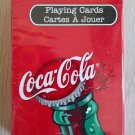 """Collectible Bicycle Coca-Cola """"Coke"""" Playing Cards - featuring Green Bottle!"""