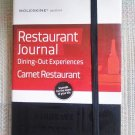Moleskine Passion Journal - Restaurant, Large, Hard Cover - Dining Out Experiences!