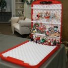 Ornament Safe by Stoner - Holds up to 75 Hanging Ornaments & Stores Them Safely!