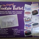The Original Tootsie Tuffet - Make Your Own Footstool Using Your Own Fabric & Creativity!