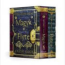 Septimus Heap Box Set: Books 1 MAGYK and 2 FLYTE Paperback, 2007 by Angie Sage - SHRINKWRAPPED!