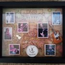 Dave Matthews Band DMB Big Whiskey and the GrooGrux King Framed Shadowbox Memorabilia 2010 Tour!