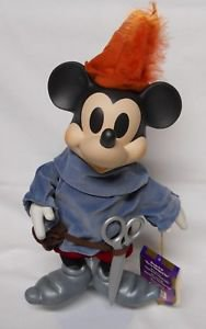 Disney 'Brave Little Tailor' Mickey Mouse Musical Porcelain Doll - 'When You Wish Upon A Star'