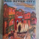 Red River City: A 3-Dimensional Story Frieze With Punch-Out Characters by Raymond Elson!