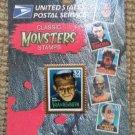 Universal Studios FRANKENSTEIN Classic Monsters Stamps Lapel Hat Pin 1997 USPS!