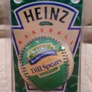 1998 H.J. Heinz Co Collectible Baseball -KOSHER CLASSICS DILL SPEARS -Orig Packaging -New Old Stock!
