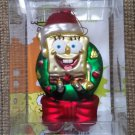 American Greetings Spongebob Squarepants Bob L'eponge Glass Ornament #AXOR-075P from 2006 - RARE!