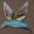 "Thomas Kinkade Beauty in Flight Hummingbird ""LILAC GAZEBO"" #A1319 by Bradford Exchange!"