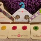 Lindsay Phillips Switchflops Straps & Snaps - LOT OF 6 - INTERCHANGEABLE!