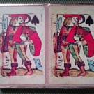 Vintage CONGRESS Playing Cards Two Decks CEL-U-TONE FINISH Knight Design!