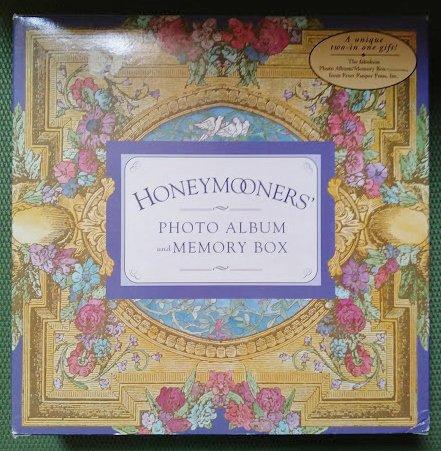 Honeymooners' Photo Album/Memory Box by Peter Pauper Press 1998!