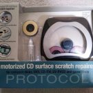 Motorized CD Surface Scratch Repairer for compact disks, DVD,CD-RW,DV-RVCD & Game Disks by Protocol