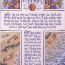 "Bucilla ""Footprints"" Counted Cross Stitch Kit #42760 designed by Sandy Orton from 2001!"