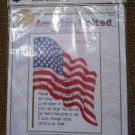 "Cross My Heart ""America United September 11 2001"" Counted Cross Stitch Kit #CPSK-8-Melinda Blackman"
