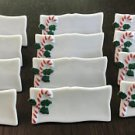 Set of 12 Lillian Vernon Candy Cane Table Placecards Christmas Dinner/Holiday Table//Hostess Gift!