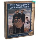 Norman Rockwell The Saturday Evening Post Bottom of the Sixth 1026 pc. Puzzle by Buffalo Games!