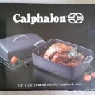 Calphalon® Contemporary™ Nonstick COVERED 16-Inch Roaster and Rack Set - NEW IN BOX - RARE!