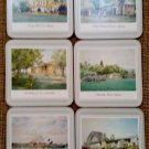 VINTAGE Pimpernel Scenes Across Sydney 6 piece Coaster Set - NEW in BOX!