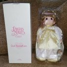 """Precious Moments, HOPE Doll #H19961 Angel holding Trumpet, Songs of the Spirit - 16"""" Tall!"""