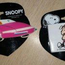 PEANUTS Barrettes by Karina - Set of 2 - 'Joe Cool' SNOOPY & LINUS!