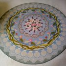CLAIRE MURRAY Floral 6' Round Hand-Hooked Heirloom Quality 100% Wool Rug!