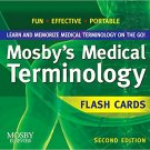 Mosby's Medical Terminology Flash Cards 2nd. Editon by Mosby – 1994!