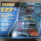 Durex Procraft 127 piece Socket & Tool Set in Molded Carry Case - New in Box!
